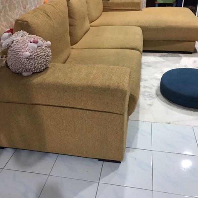 Lorenzo L Shape Sofa