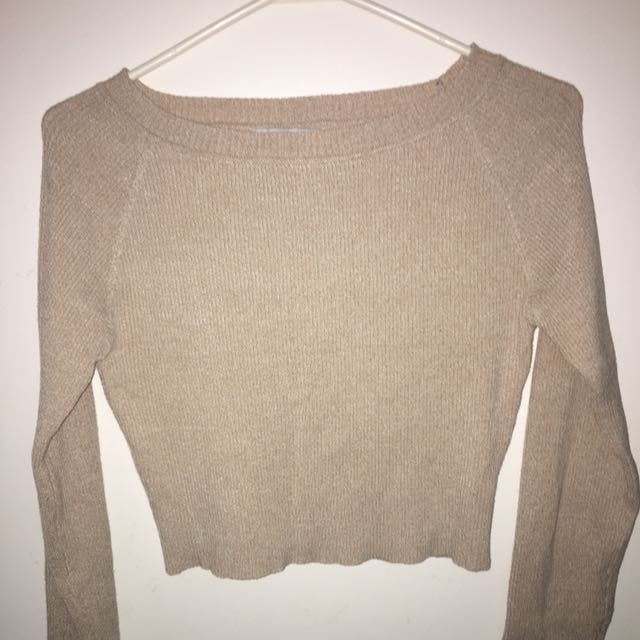 M for Mendocino Crop Sweater