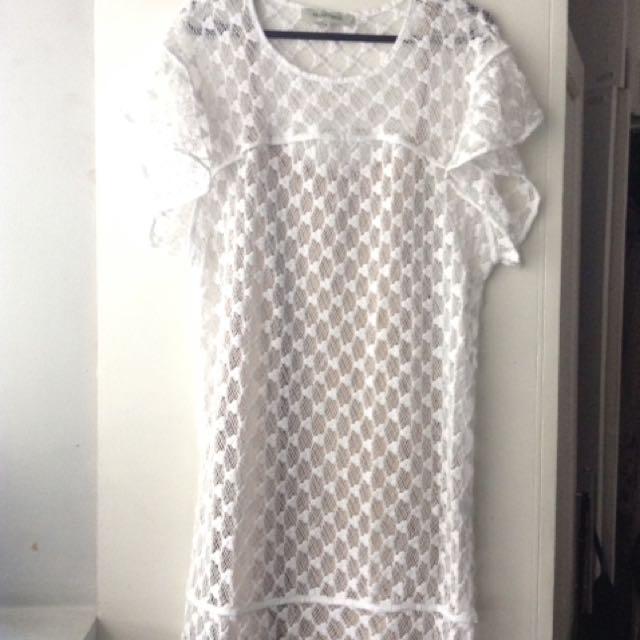 Magali Pascal Mary Lou Dress White