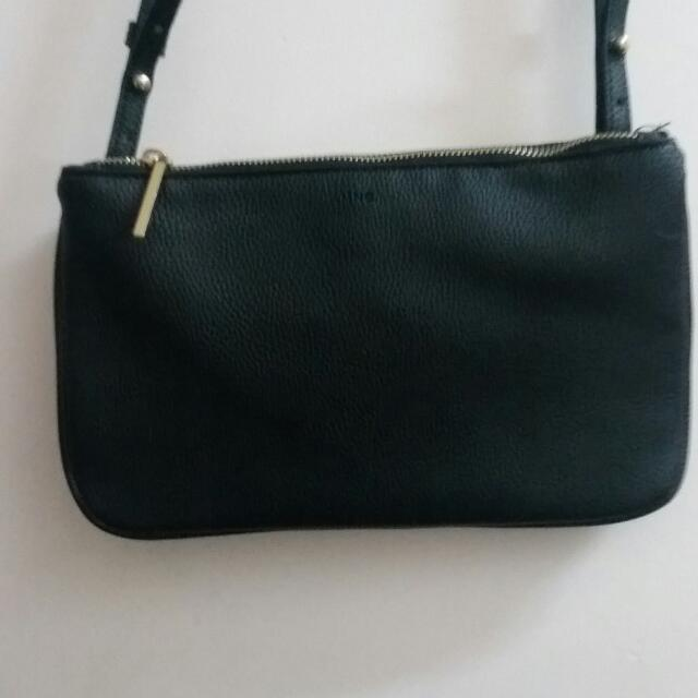 Mango Double Compartment Cross Body Bag