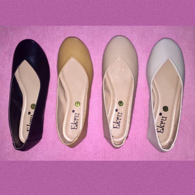 Marikina Made Flat Shoes (Nude)
