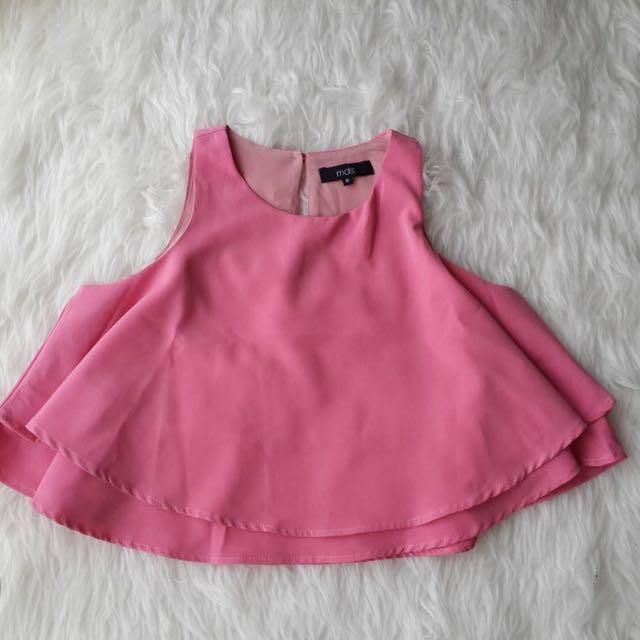MDS Pink Flow Top
