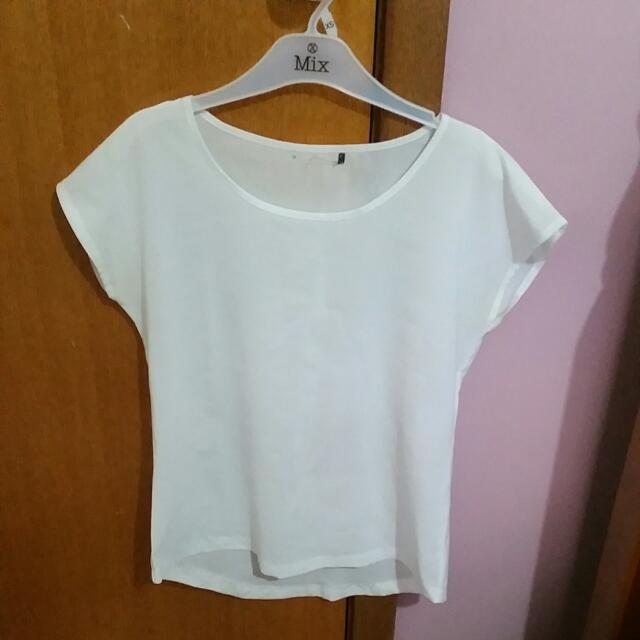 Milli Lulo White Long Top