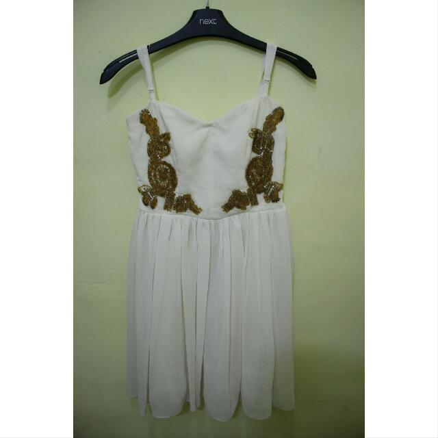 Mini Dress With Payet