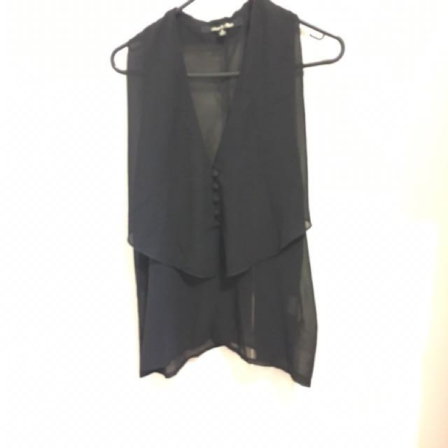 NEW - Black Blouse