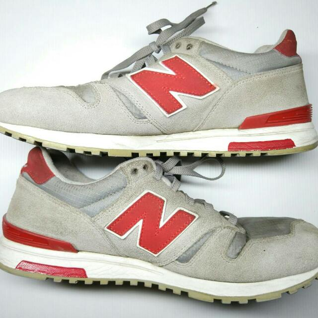 outlet store hot products cute NEW BALANCE 565 GREY-BURGUNDY AUTHENTIC CHAT FOR SERIOUS ...