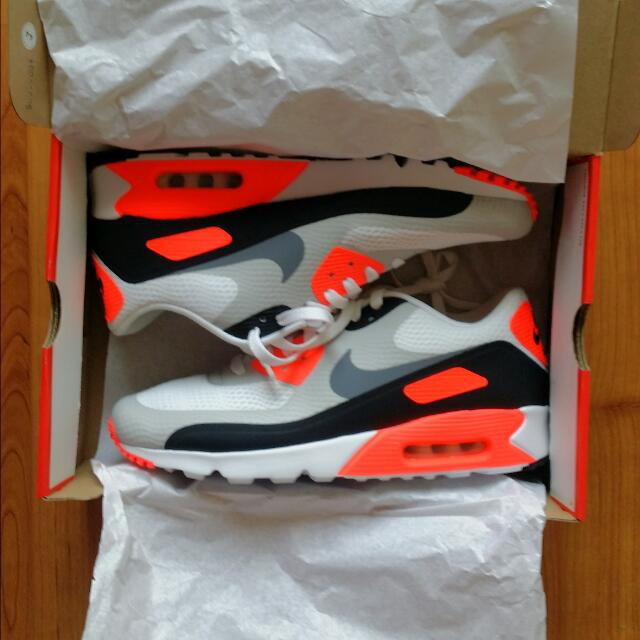 check out 596a7 ead49 NIKE AIR MAX 90 ULTRA ESSENTIAL - Infrared - Size 11US / 10UK