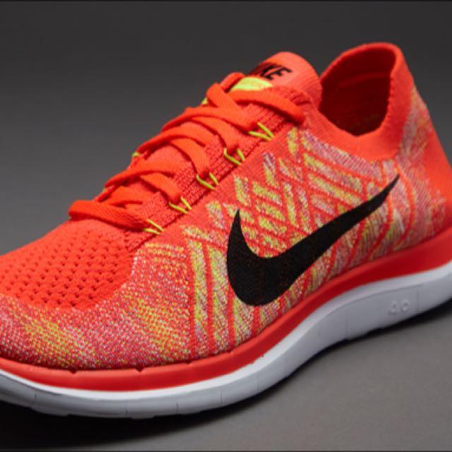 timeless design e3e4a 36281 Nike Flyknit Free 4.0 (Orange), Men's Fashion, Footwear on ...