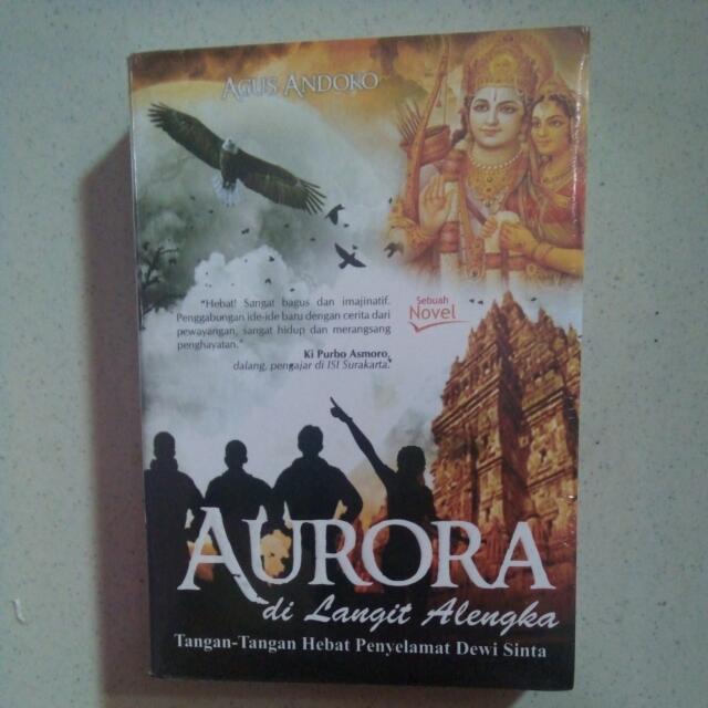 Novel AURORA Di Langit Alengka