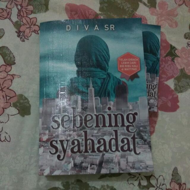 Novel  DIVA SR  Sebening Syahadat
