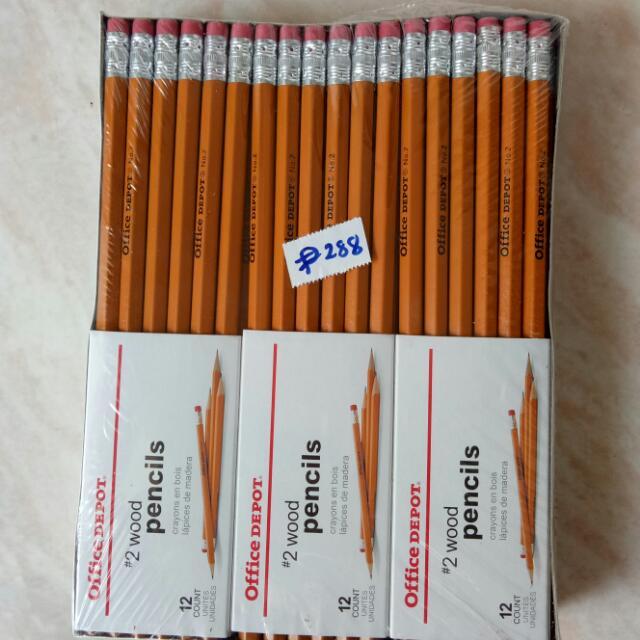 Office Depot #2 Pencil 72pcs