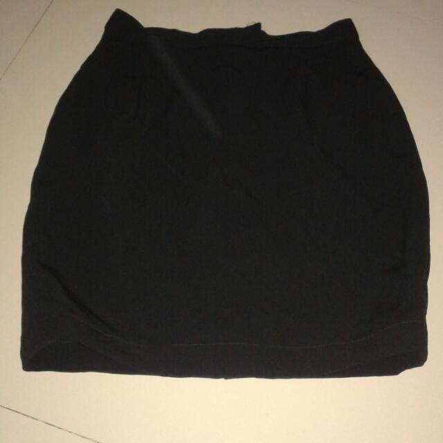 Office Skirt Black