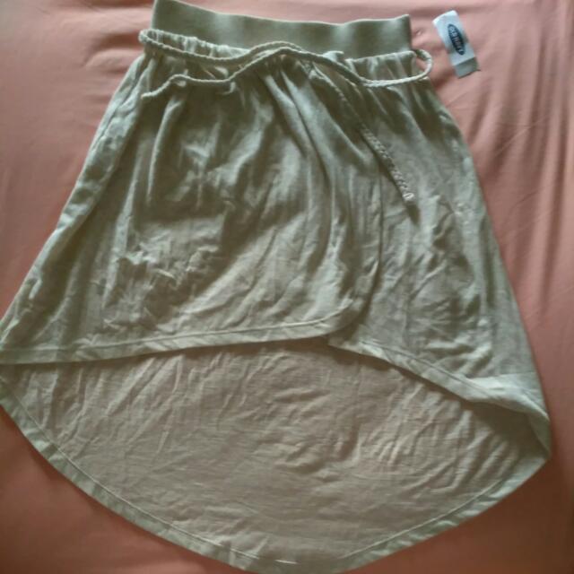 Old Navy Beach Skirt Beige