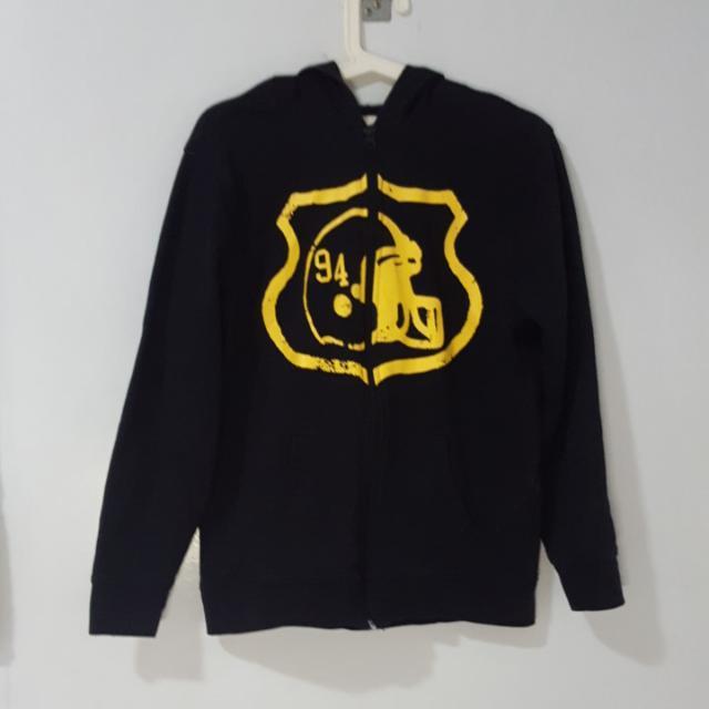 Old Navy Black Hoodie Jacket