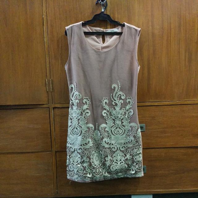Old Rose Dress (It Girl)