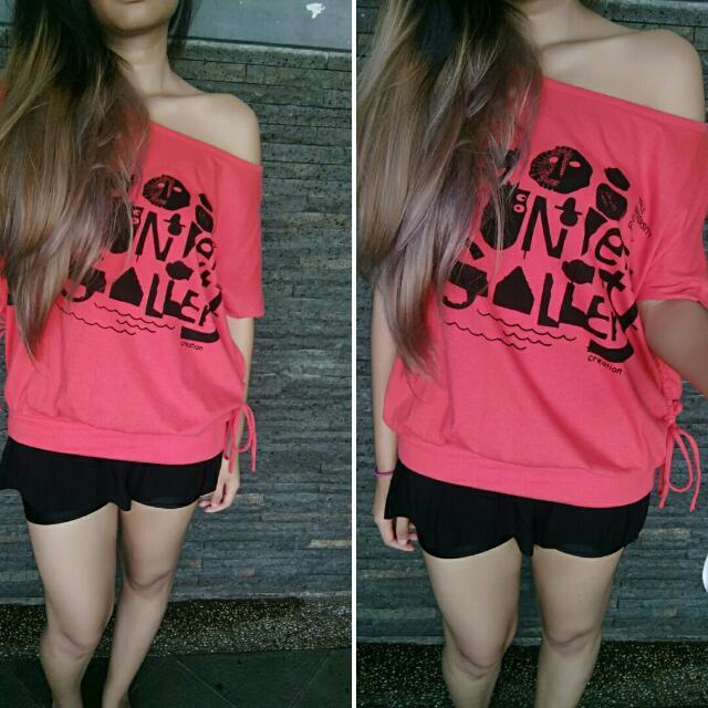 Oversized T-shirt / Kaos Oversize