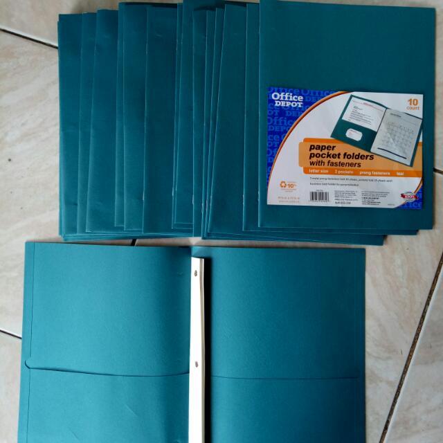 Paper Pocket Folders