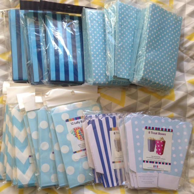 Party Supplies- Blue