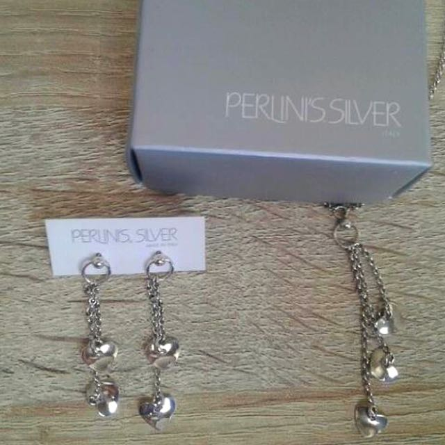 Perlini's silver, made in Italy