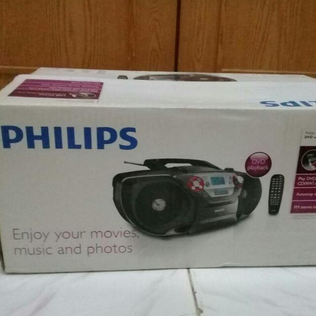 (REPRICE) Philips DVD Sound Machine
