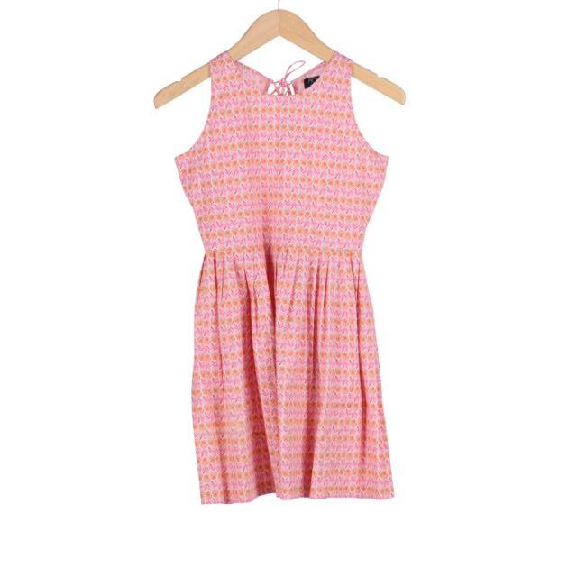 Picnic Mini Dress Pink