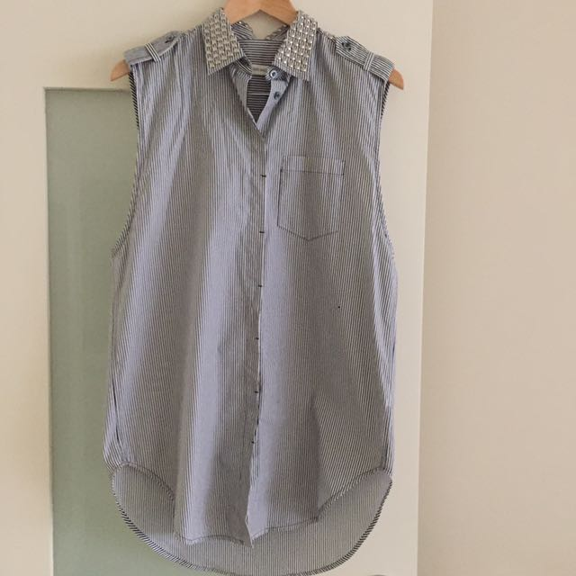 Pierre Balmain Sleeveless Shirt
