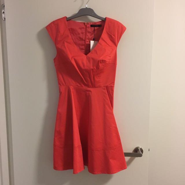 Portmans Orange Cocktail/Office Dress