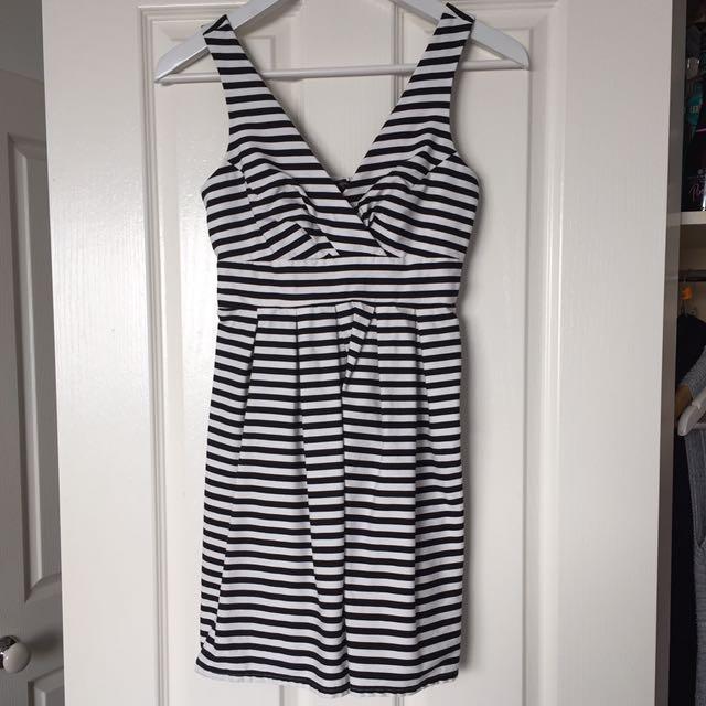 Portmans Striped Mini Dress