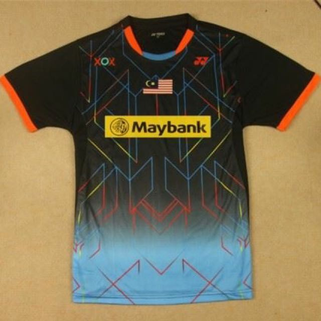 Preorder Malaysia Team Shirt Sports Athletic Sports Clothing On Carousell