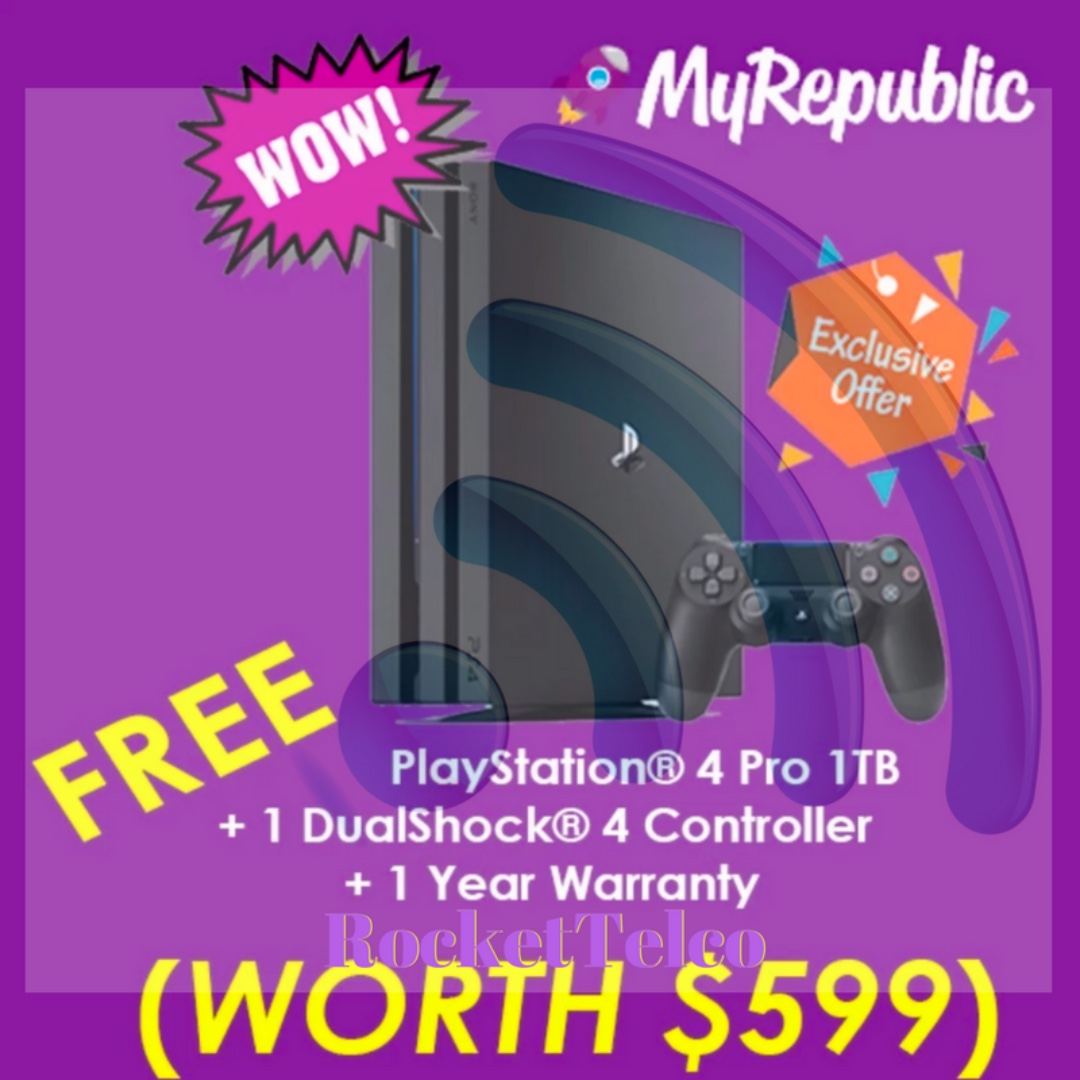 PROMO] FREE PS4 PRO Package or GAMER FREE ASUS AC88U* Router