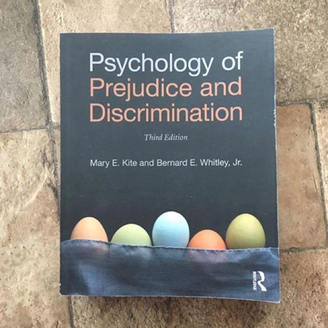 Psychology of Prejudice and Discrimination (Fourth Edition)