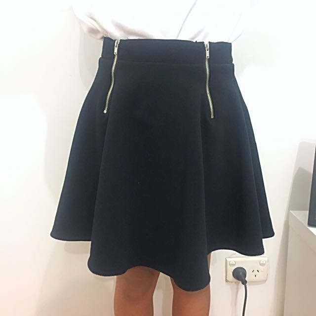 Pure Hype Zipped Skirt