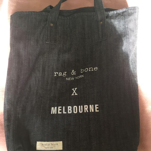 Rag And Bone x Melbourne Totebag