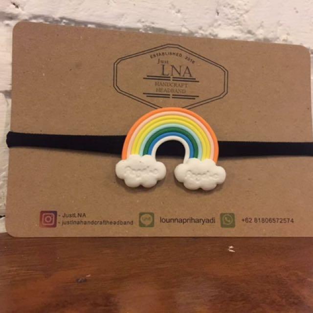 Rainbow Candy Headband