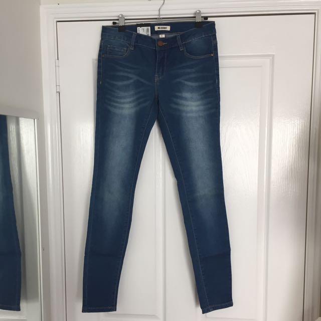 RE Skinny Denim Jeans