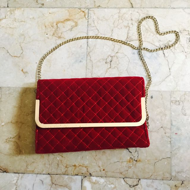 Red fashionable Bag