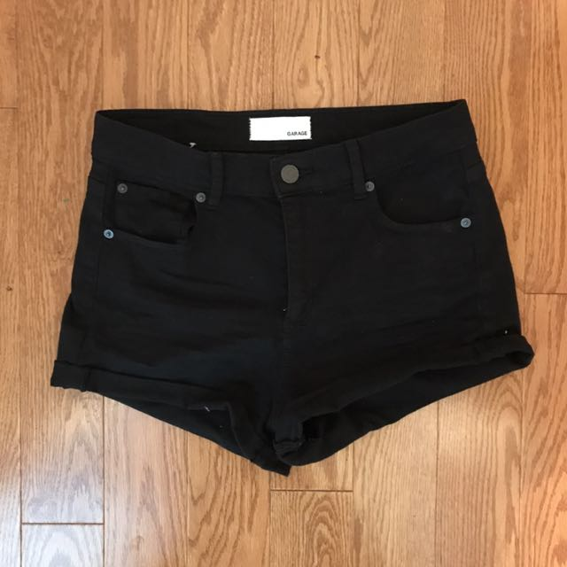 Retro High Waist Short