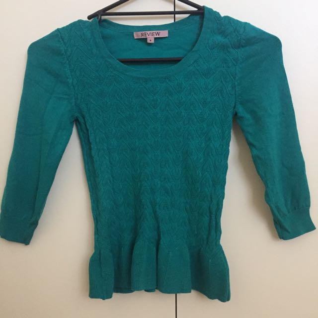Review Knit Top