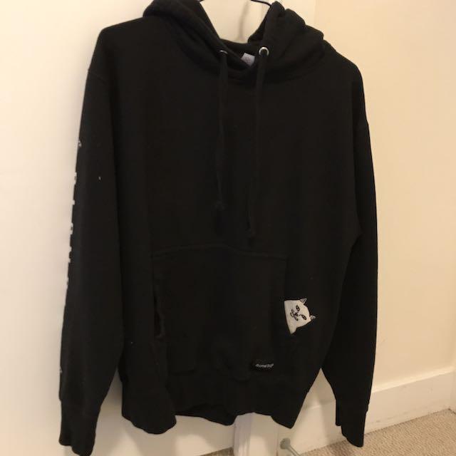 RIPNDIP black Hoodie (size M)