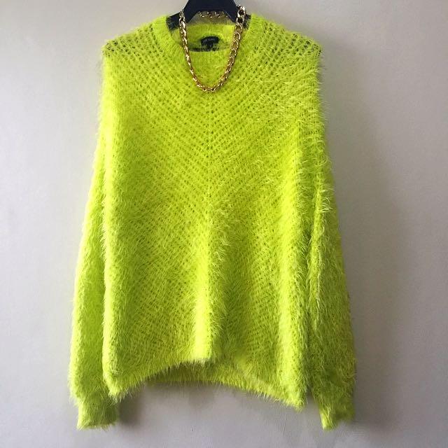 River Island Fuzzy Sweater