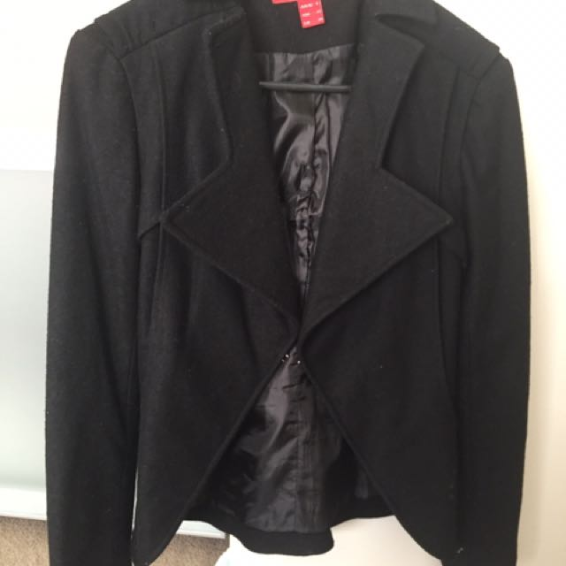 Rouge Fully Lined Jacket