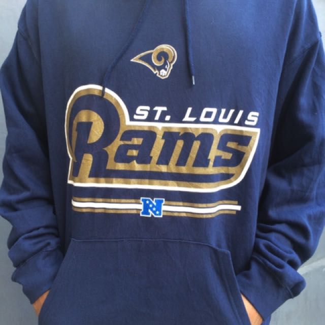 more photos 2daeb 04321 Saint Louis Rams Hoodie Original NFL, Men's Fashion, Men's ...