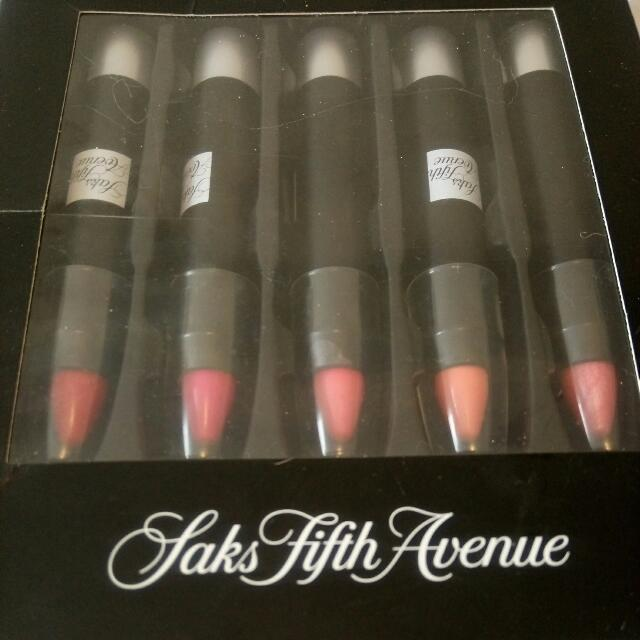 Saks Fifth Avenue Lip Pencil Set