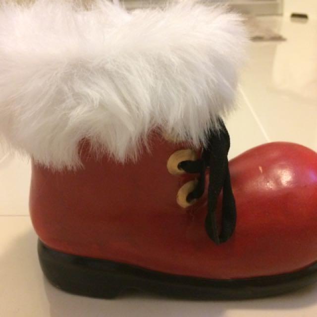Santa Clause Shoe Decor