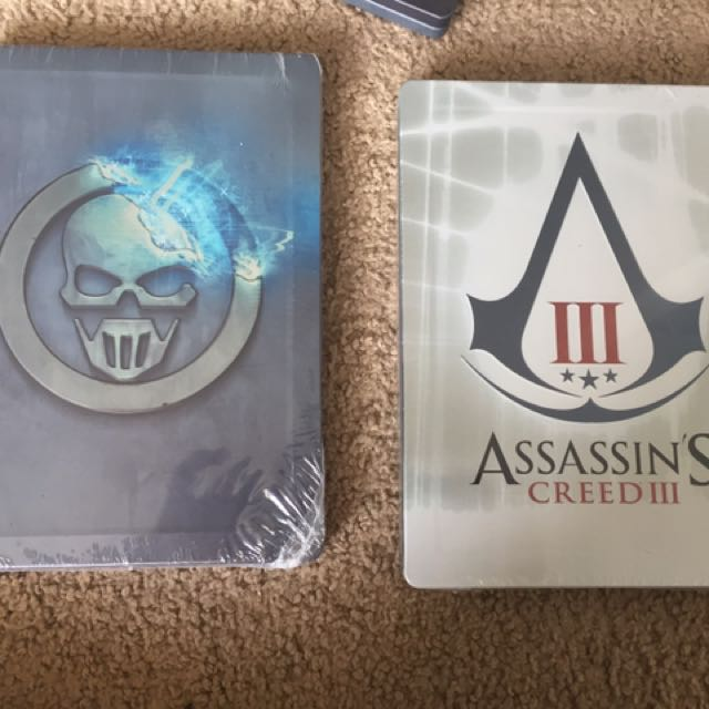 Sealed Collectible Steelbooks Only