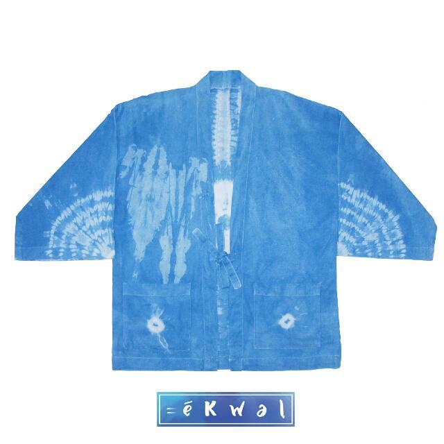 Shibori Outer Kimono