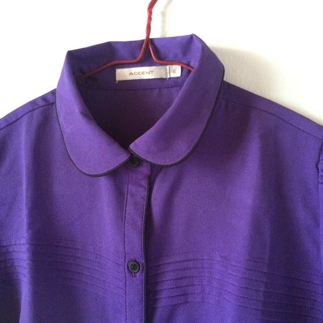 Shirt Accent Purple