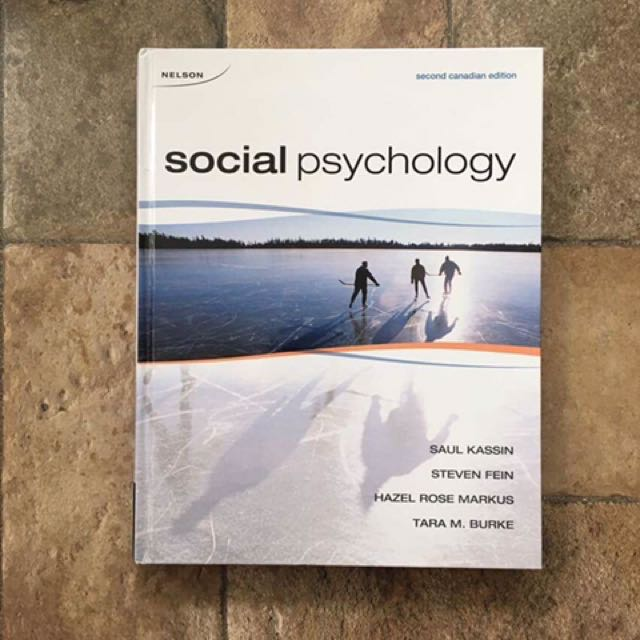 Social Psychology (Second Canadian Edition)