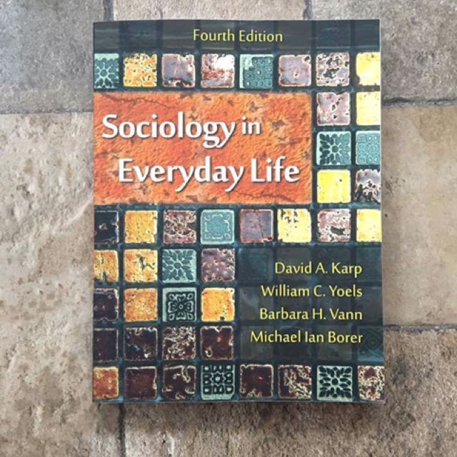 Sociology in Everyday Life (Fourth Edition)