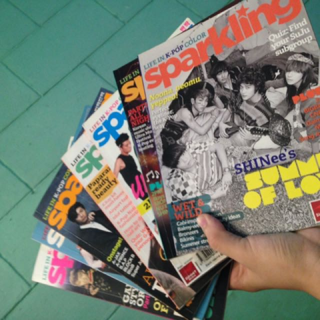 SPARKLING MAGAZINE COLLECTION